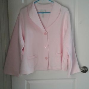 Charter Club Pink Bed Jacket NWOT